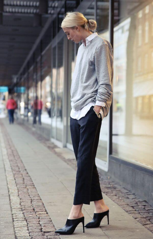 black-trousers-white-oxford-sweatshirt-grey-sweatshirt-mules-weekend-tomboy-menswear-borrowed-from-the-boys-via-apartment34.