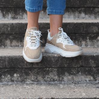 chunky sneakers stijlen