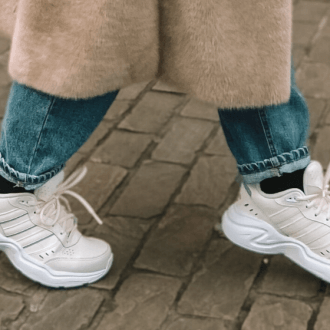 Adidas Off-white Strutter chunky sneakers