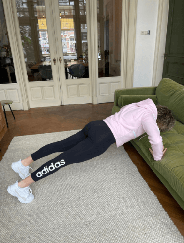 push-up home workout