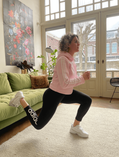 bulgarian split squat home workout