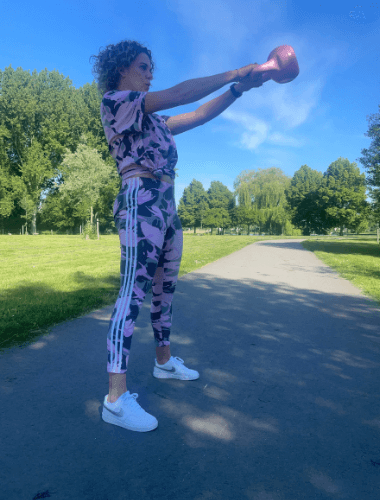 sporten kettlebell