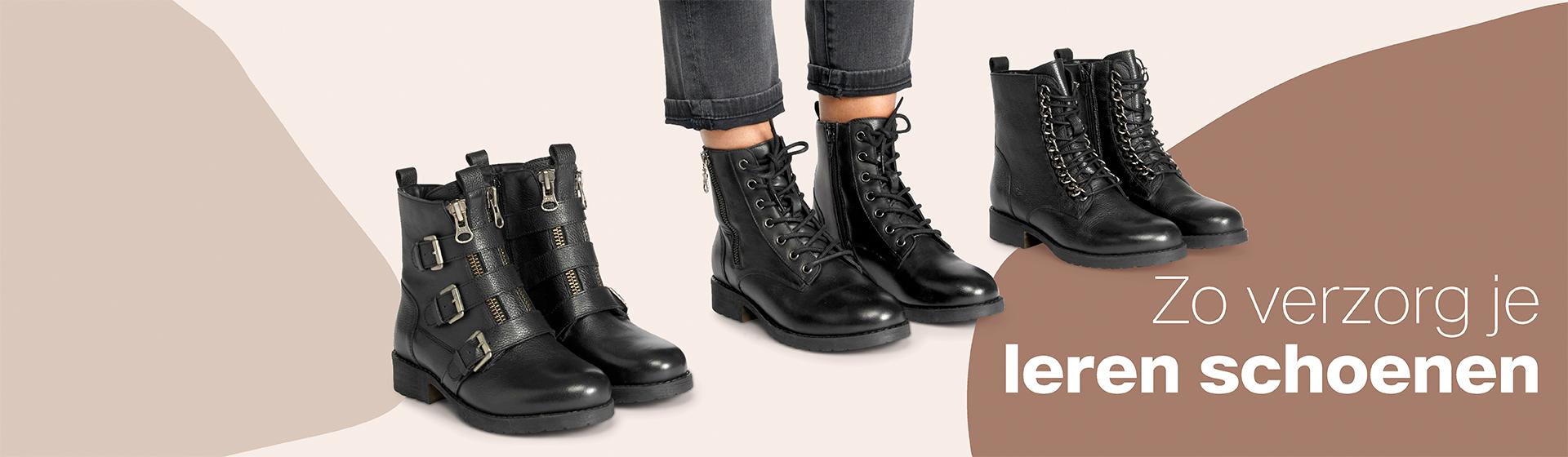 leren schoenen verzorgen