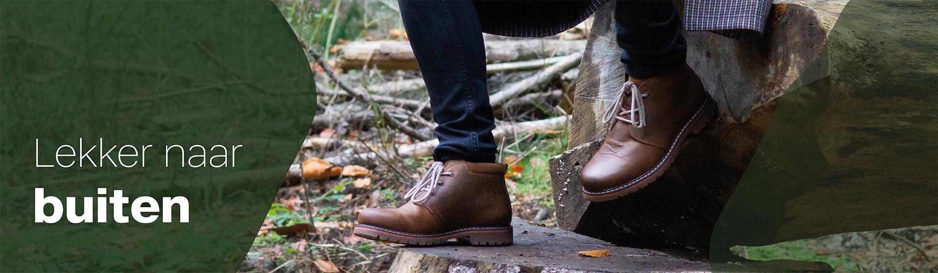 lekker naar buiten schoenen